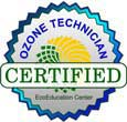 Ozone Technician Certified